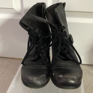 3 for $30 Black combat boots